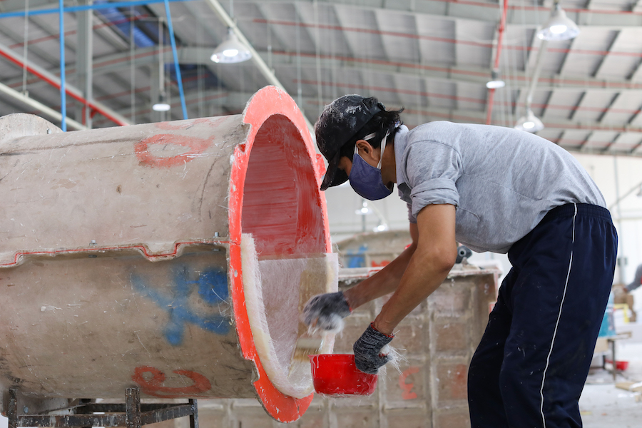 How flower pots are made the mold creating