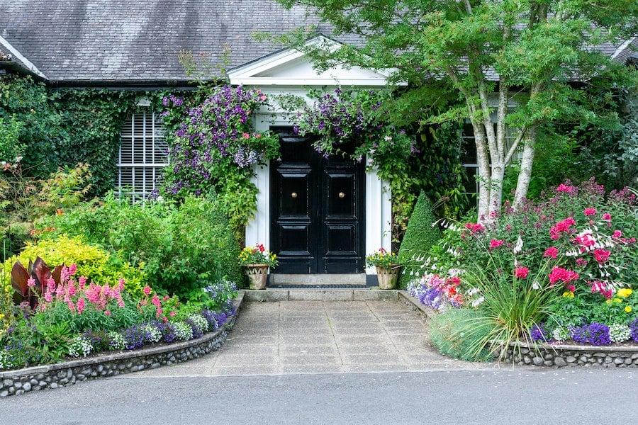 House at the Irish National Stud & Gardens in County Kildare, Ireland.