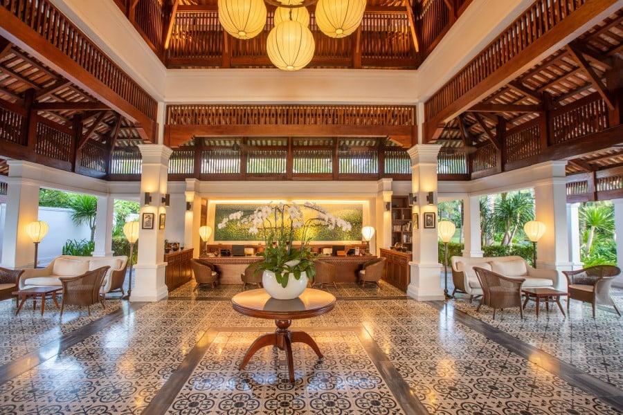 Indochine style resort, The Anam Cam Ranh, Vietnam