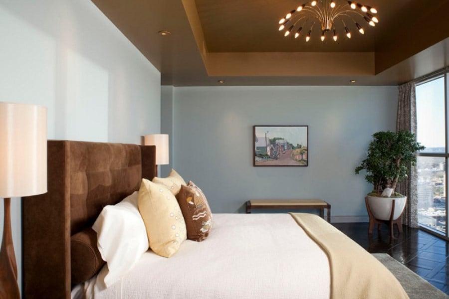 Planters in bedroom hotel
