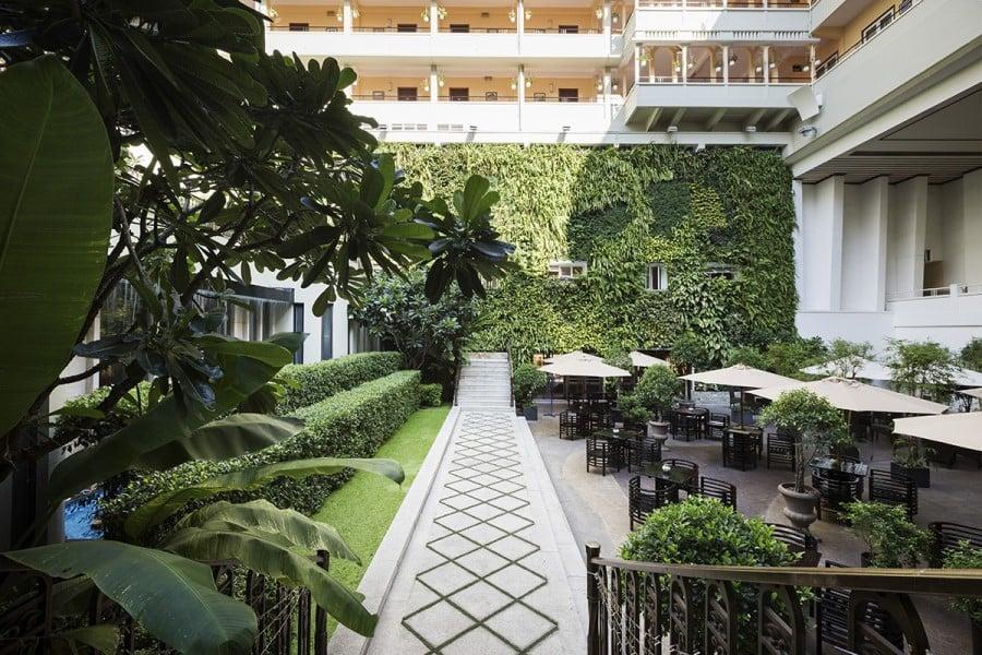 Garden in Rex Hotel