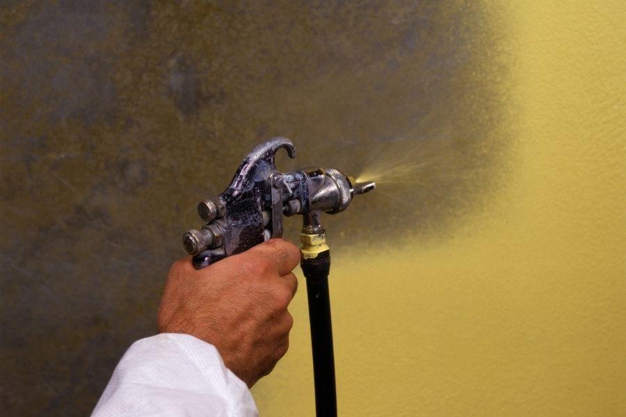 spray-painting